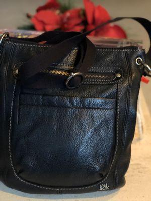 "Black SAK Leather Purse 9"" for Sale in Everett, WA"