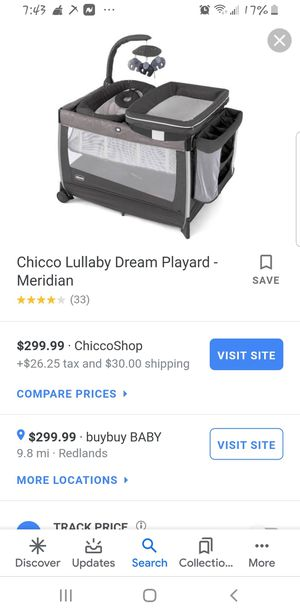 Chicco play pen for Sale in Moreno Valley, CA