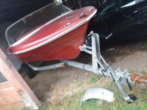 Boat and trailer for Sale in Aberdeen, WA