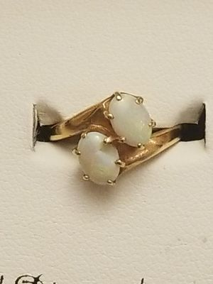 BEAUTIFUL 14K GOLD WITH OPAL RING for Sale in Annandale, VA