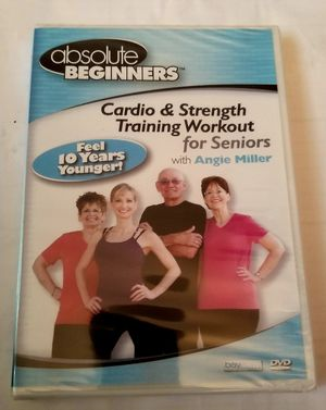 Absolute Beginners Cardio &Strength Training Workout for Seniors for Sale in Olympia, WA