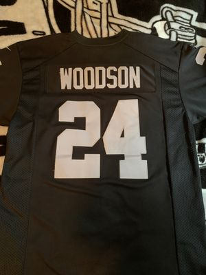 """Nike Raiders """"Woodson"""" Jersey for Sale in San Jose, CA"""