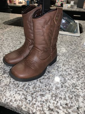 Toddler cowboy boots for Sale in Virginia Beach, VA