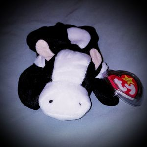 """Ty Beanie Baby """"Daisy"""" Cow (In memory of Harry Caray) for Sale, used for sale  Thomasville, PA"""
