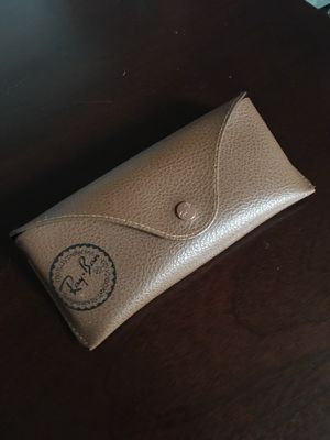 Authentic Brown Ray-ban sunglasses case for Sale in Dallas, TX
