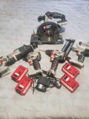 20v Max Porter Cable power tools for Sale in Aiken, SC