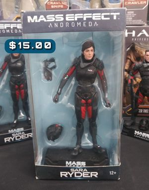"""McFarlane Mass Effect: Andromeda Sara Ryder Action Figure #21 7"""" Articulated Action Figure Loose for Sale in Alameda, CA"""