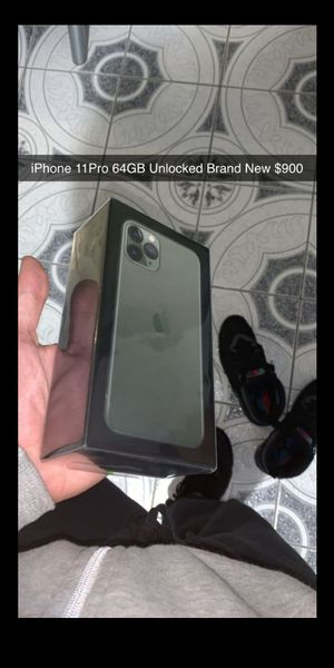 iPhone 11 Pro 64GB Brand New Unlocked for Sale in Washington, DC