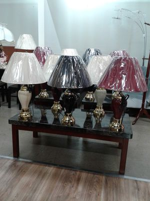 Budget lamps in 3 colors. $14 each. for Sale in Pembroke Pines, FL