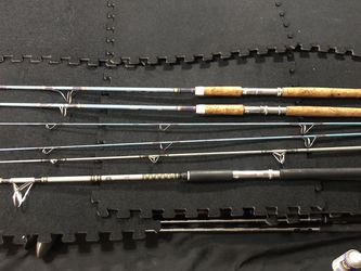 3-8' Surf And Vintage Surf Fishing Poles for Sale in Henderson,  NV
