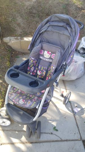Hello kitty stroller for Sale in Colton, CA