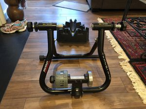 Blackburn Trakstand Bicycle Trainer and CycleOps Riser Block for Sale in Alexandria, VA