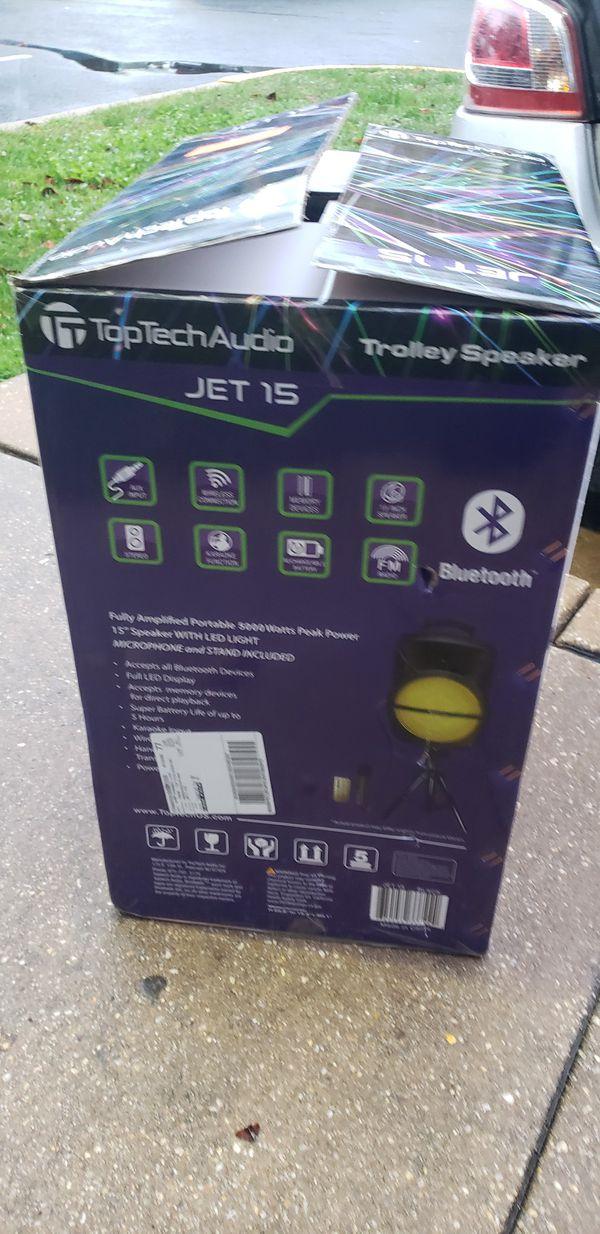 Bluetooth speaker brands new ✅