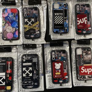 Supreme , Off White , Kaws , Light Up IPhone 11 Case for Sale in Bridgeport, CT