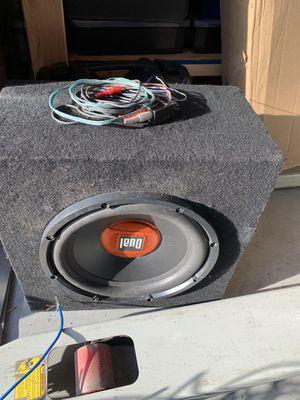 Dual 12 speaker. for Sale in St. Petersburg, FL