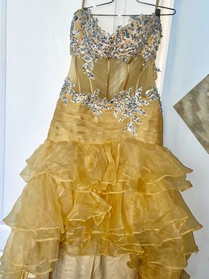 Yellow Prom Or Evening Dress for Sale in Upper Marlboro, MD