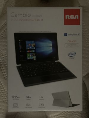 Cambio 2-in-1 notebook/tablet laptop for Sale in Norfolk, VA