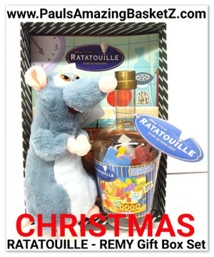Christmas RATATOUILLE - REMY Gift Box Set for Sale in Santa Fe Springs, CA