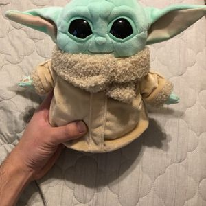Baby Yoda Plush Toy Cute Small Soft (Grogu, The Child) From Mandolorian Star Wars for Sale in Clarksville, TN
