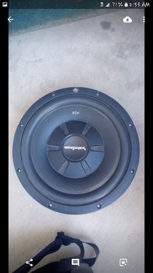 "ROCKFORD FOSGATE R2 12"" INCH SUB for Sale in Glendale, AZ"