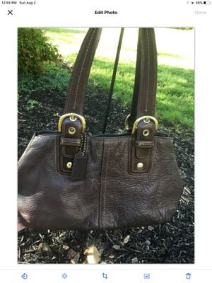 Coach Tote Leather for Sale in Spartanburg, SC