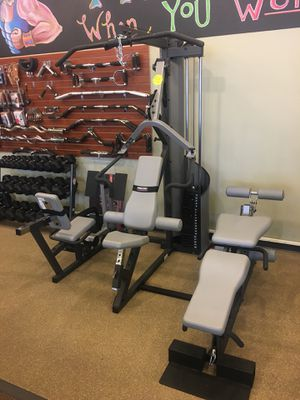 Precor home GYM S3.25 w leg press for Sale in Atlanta, GA