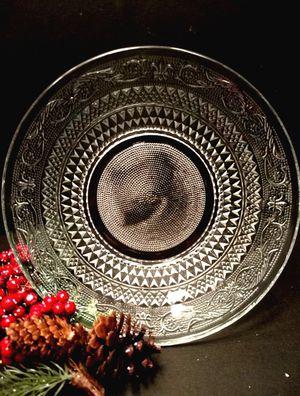 Vintage Clear Glass Bowl for Sale in Bonney Lake, WA
