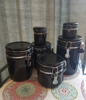 6 piece canister set for Sale in Sully Station, VA