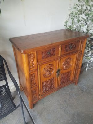 Asian Antique Cabinet for Sale in Elgin, IL