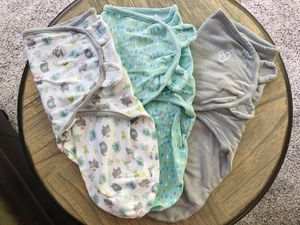 More than 10 pieces brand new NB newborn baby clothes suits swaddles for Sale in Quarryville, PA