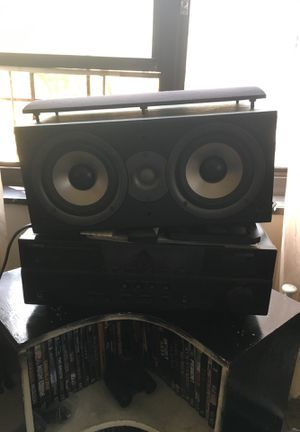 Yamaha digital stereo and Polk audio speakers for Sale in New York, NY