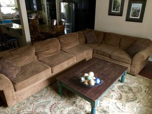 Large 2-Piece Sectional Sofa Couch for Sale in Riverside, CA