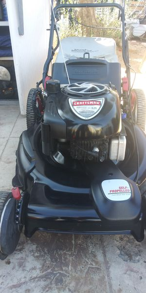 """Craftsman 22"""" Key Start Self Propelled Lawn Mower for Sale in Moreno Valley, CA"""