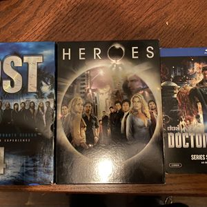 DVD/Blu-ray Lost, Heroes, Doctor Who for Sale in Mastic, NY