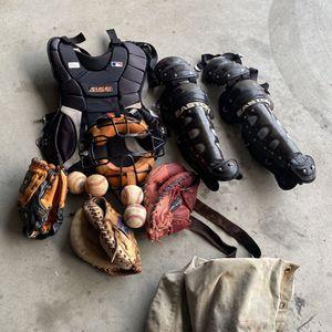 Baseball Catchers Gear for Sale in Bakersfield, CA