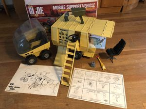 """Vintage 1972 GI Joe """"Mobile Support Vehicle"""" Set with Original Box! for Sale in Long Beach, CA"""
