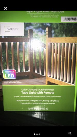 LED lights with remote for Sale in Smyrna, TN