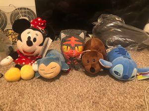 BRAND NEW Plushies $5 each Disney Pokémon We Bare Bear for Sale in Gardena, CA