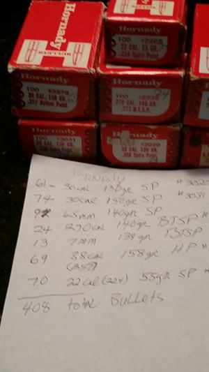 Hornady bullets for Sale in Hilton Head Island, SC