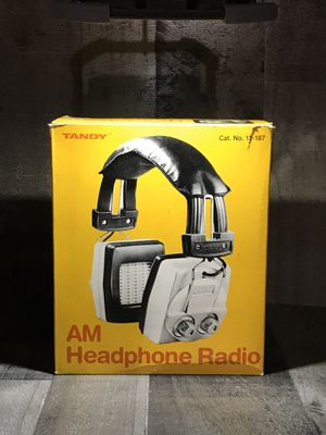 Old A.M Headphone Radio for Sale in Danvers, MA