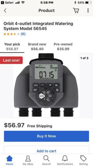 Orbit Programable Sprinkler Controller for Sale in Chesapeake, VA