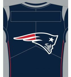Patriots Sherpa Jersey Throw 50 by 60 for Sale in Londonderry, NH