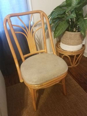 Vintage Rattan Chair for Sale in West Palm Beach, FL