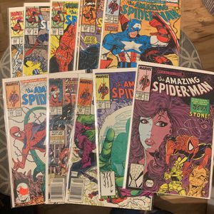 Marvel Comic Book Amazing Spider-Man Older Issues for Sale in Upland, CA