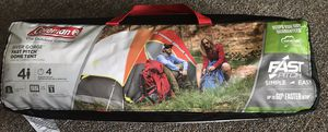 Coleman Outdoor Tent- 4 Person size for Sale in Harrisonburg, VA