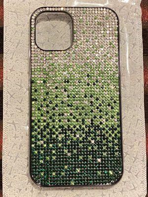 Silver / Green / Black Stone iPhone Pro Case for Sale in Dallas, TX