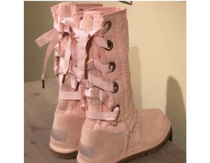 UGG PINK BOOTS SIZE US-7 for Sale in Falls Church, VA