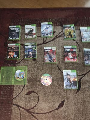 Xbox 360 games all common best games of 2017-18 for Sale in Manassas, VA