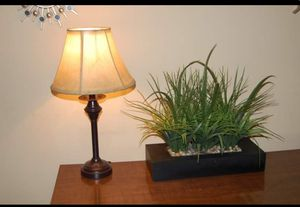 Table Lamp Light Shade Decor Living Room Office for Sale in Chicago, IL