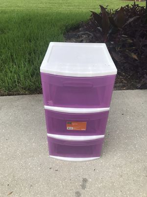 Plastic storage container drawers for Sale in Saint Petersburg, FL